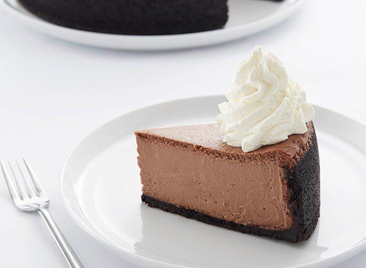 وكعكة الجبن بالشوكولاتة