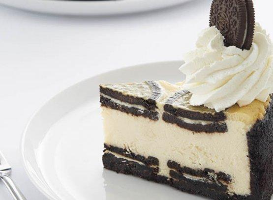 وكعكة الجبن بالأوريو