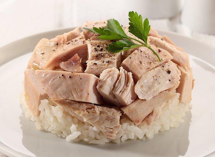 وأرز بالدجاج